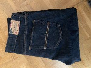 Denim & Supply Ralph Lauren pantalón de cintura baja azul oscuro