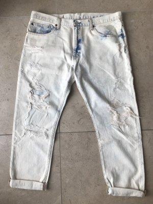 Denim & Supply Ralph Lauren Boyfriend Jeans cream-steel blue