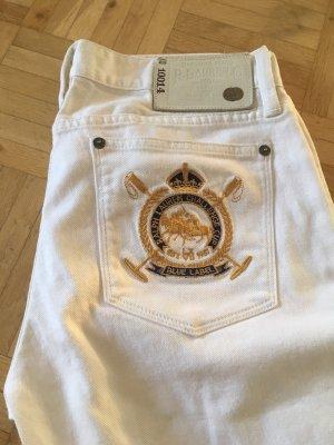 Lauren by Ralph Lauren Low Rise Jeans white