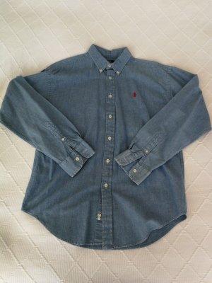 Ralph Lauren Camisa vaquera azul celeste
