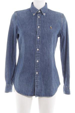 Ralph Lauren Denim Shirt blue casual look