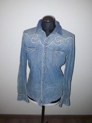 ralph lauren jeanshemd gr. 36