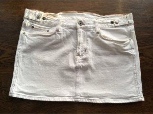 Ralph Lauren Jeansrock Mini weiß, Größe 30, Top Zustand