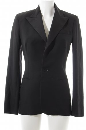 Ralph Lauren Jerseyblazer schwarz Business-Look