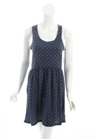 Ralph Lauren Jerseykleid dunkelblau-weiß Sternenmuster Beach-Look