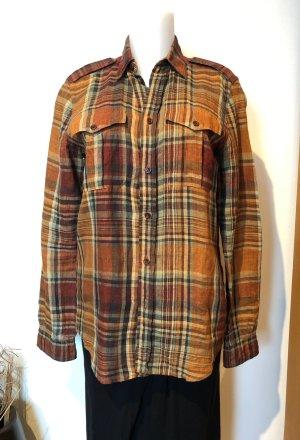 RALPH LAUREN Kariert Shirt, Gr. 38/40 (US 10)