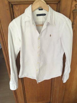 Ralph Lauren klassische Bluse in weiß