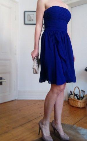Ralph Lauren Kleid 34 36 XS S Cocktailkleid Abendkleid bandeau purple lila