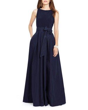 Ralph Lauren Kleid 36 S Abendkleid Ballkleid dunkelblau Neu