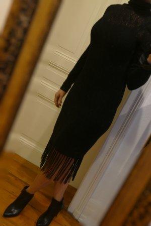 Ralph Lauren Kleid aus Wolle schwarz Gr S Neu mit Etikett