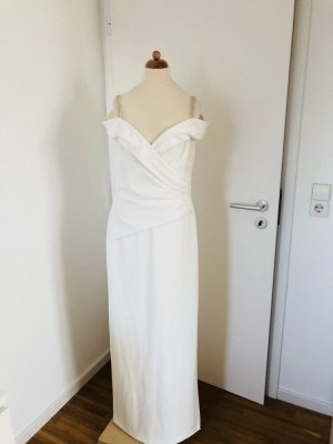 Ralph Lauren Kleid creme Cocktail off Shoulder statt 270 eur