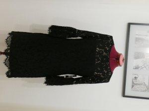 ralph lauren kleid damen Spitzenkleid mit Glockenärmeln 36 S NEU