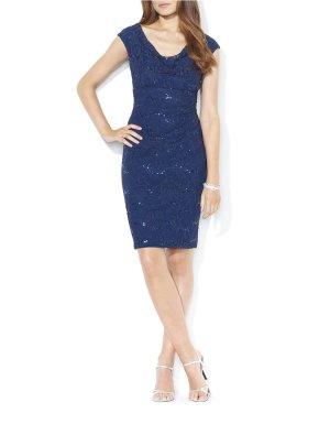 Ralph Lauren Kleid Gr 36 dunkelblau neu