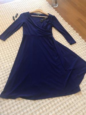 Ralph Lauren Kleid Größe 34/36 dunkelviolett NEU