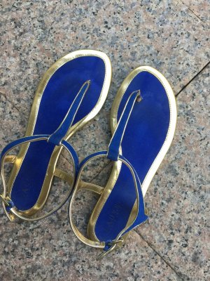 Ralph Lauren königsblaue Sandalen