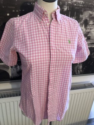 Ralph Lauren Short Sleeved Blouse light pink-white