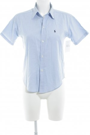 Ralph Lauren Short Sleeve Shirt cornflower blue casual look