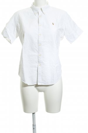 20d00ed804d99f Ralph Lauren Short Sleeve Shirt natural white simple style