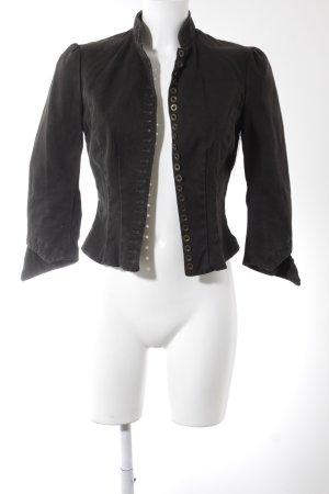 Ralph Lauren Short Jacket dark brown casual look
