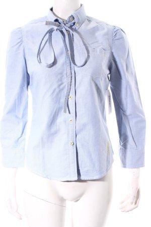 Ralph Lauren Langarm-Bluse hellblau Casual-Look