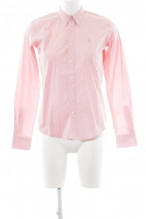 "Ralph Lauren Langarm-Bluse ""Slim Fit"" rosa"