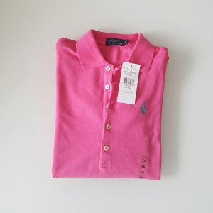 Ralph Lauren langarm Polo pink xs
