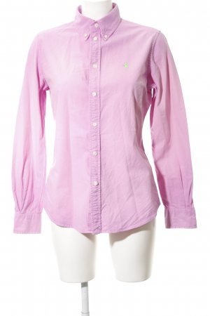 Ralph Lauren Langarmhemd rosa Business-Look