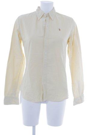 Ralph Lauren Langarmhemd blassgelb Casual-Look