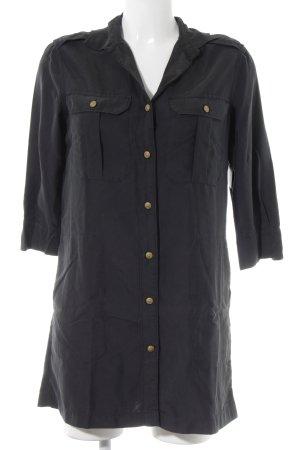 Ralph Lauren Langarmhemd dunkelgrau Casual-Look