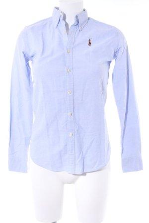 Ralph Lauren Langarmhemd himmelblau Brit-Look
