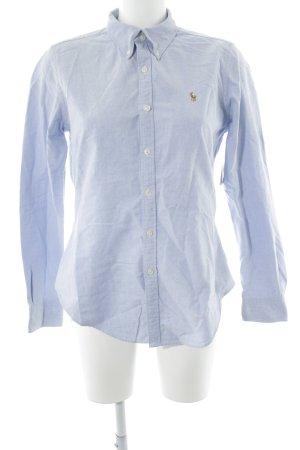 Ralph Lauren Chemise à manches longues bleu azur style d'affaires