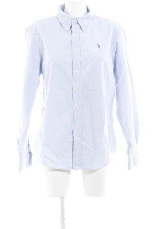 Ralph Lauren Langarmhemd himmelblau klassischer Stil