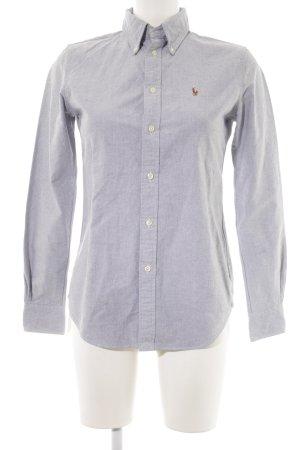 Ralph Lauren Shirt met lange mouwen gestippeld zakelijke stijl