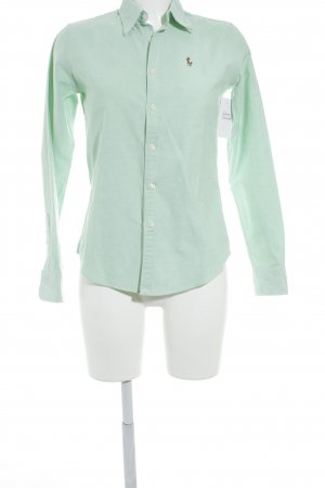 Ralph Lauren Langarmhemd mint Casual-Look