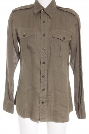 Ralph Lauren Long Sleeve Shirt olive green casual look