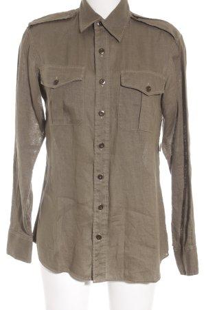 Ralph Lauren Langarmhemd olivgrün Casual-Look