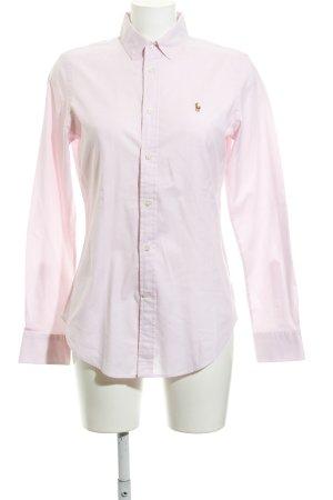 Ralph Lauren Langarmhemd rosé Business-Look