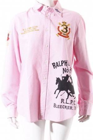 Ralph Lauren Long Sleeve Shirt pink casual look