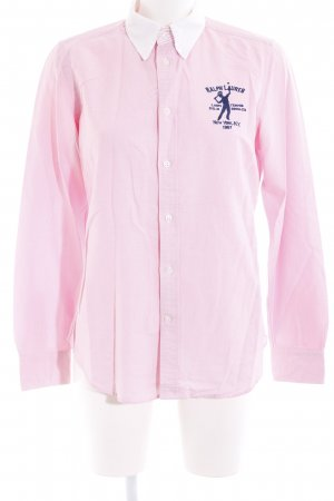 Ralph Lauren Long Sleeve Shirt embroidered lettering sailor style