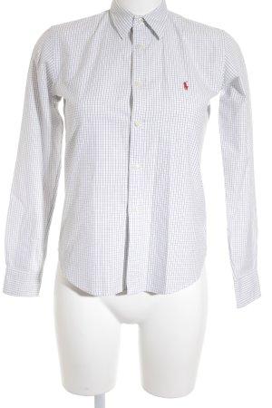 Ralph Lauren Langarmhemd schwarz-weiß Karomuster Casual-Look