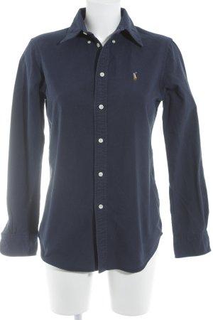 Ralph Lauren Long Sleeve Shirt steel blue casual look