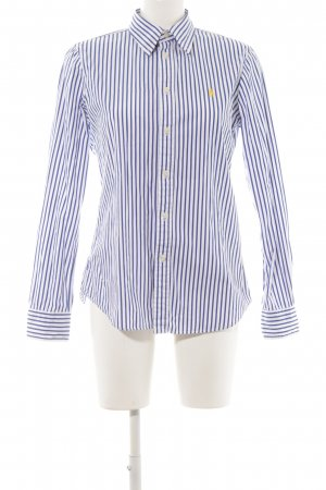 Ralph Lauren Chemise à manches longues motif rayé style des années 90