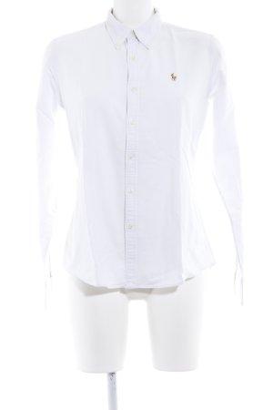 Ralph Lauren Camisa de manga larga blanco estilo boyfriend