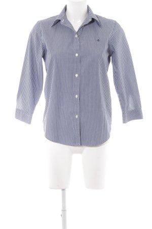 Ralph Lauren Langarmhemd weiß-dunkelblau Business-Look