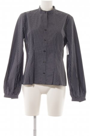 Ralph Lauren Langarmhemd weiß-dunkelblau Karomuster Casual-Look