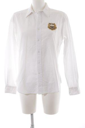 Ralph Lauren Langarmhemd weiß Elegant