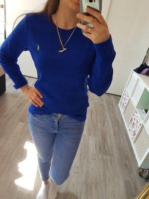 Ralph Lauren langarmshirt Blau Grün Gr M