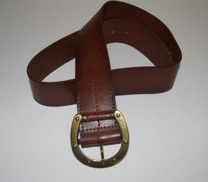Ralph Lauren Cintura marrone-marrone-rosso Pelle