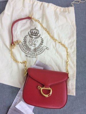 Ralph Lauren Lederhandtasche, neu und original verpackt mit Kassenbon