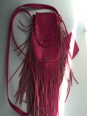 Ralph Lauren Ledertasche Pink